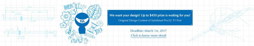 SainSmart Pro32 Accessories Design Contest Starts!