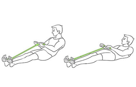 The Wasit-Hip Resistance Band Training