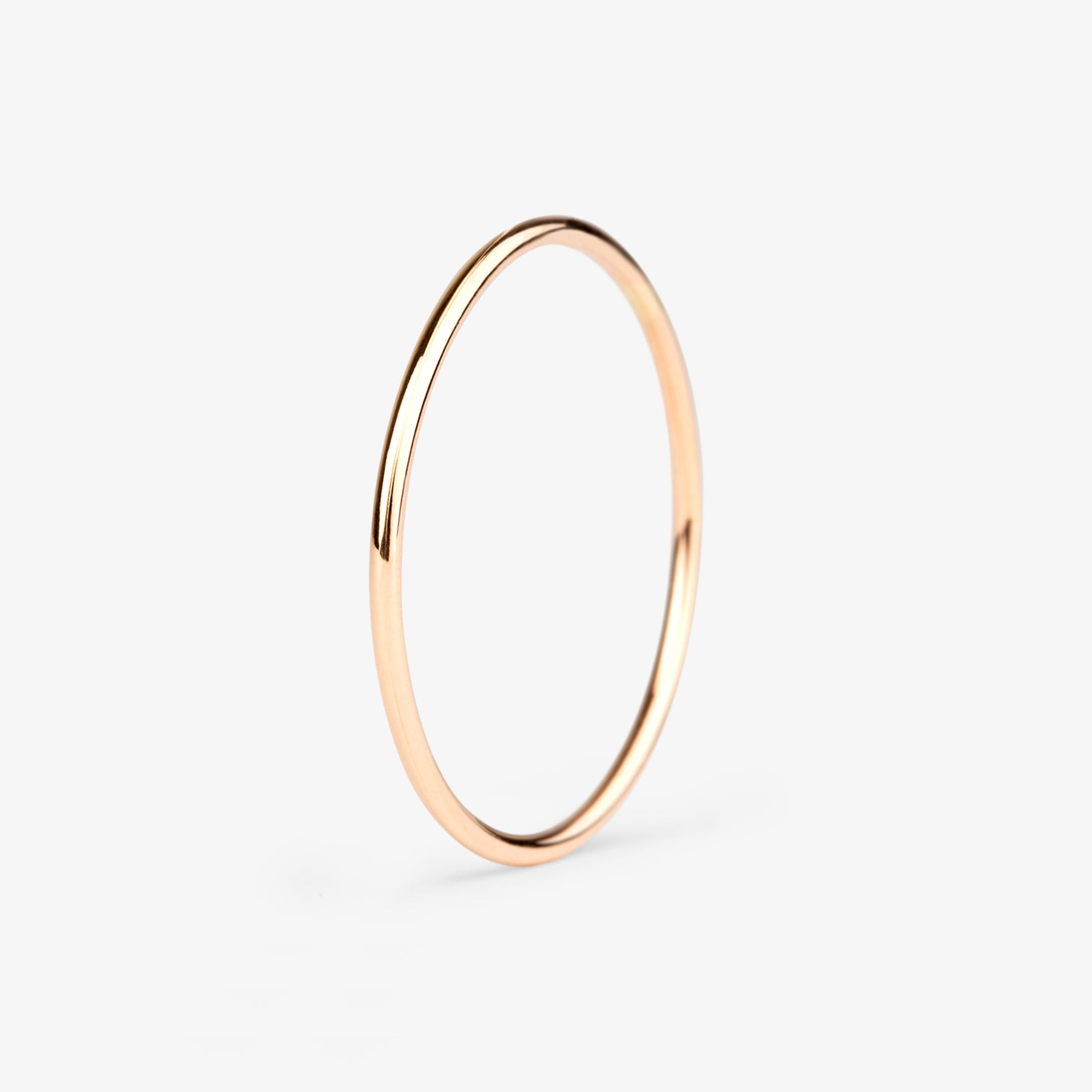 Luminous N.0 Rose Gold Ring