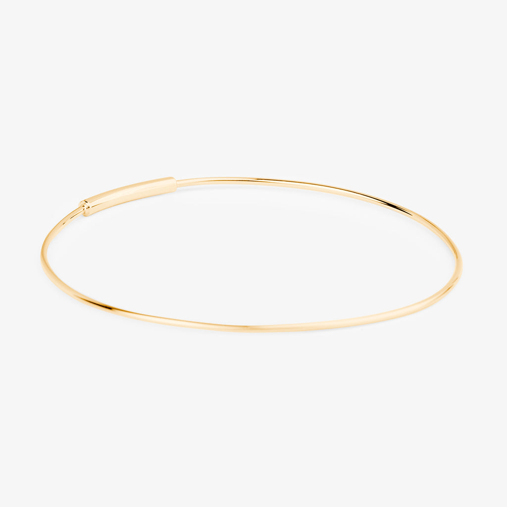 Luminous N.6 Gold XL Hoop