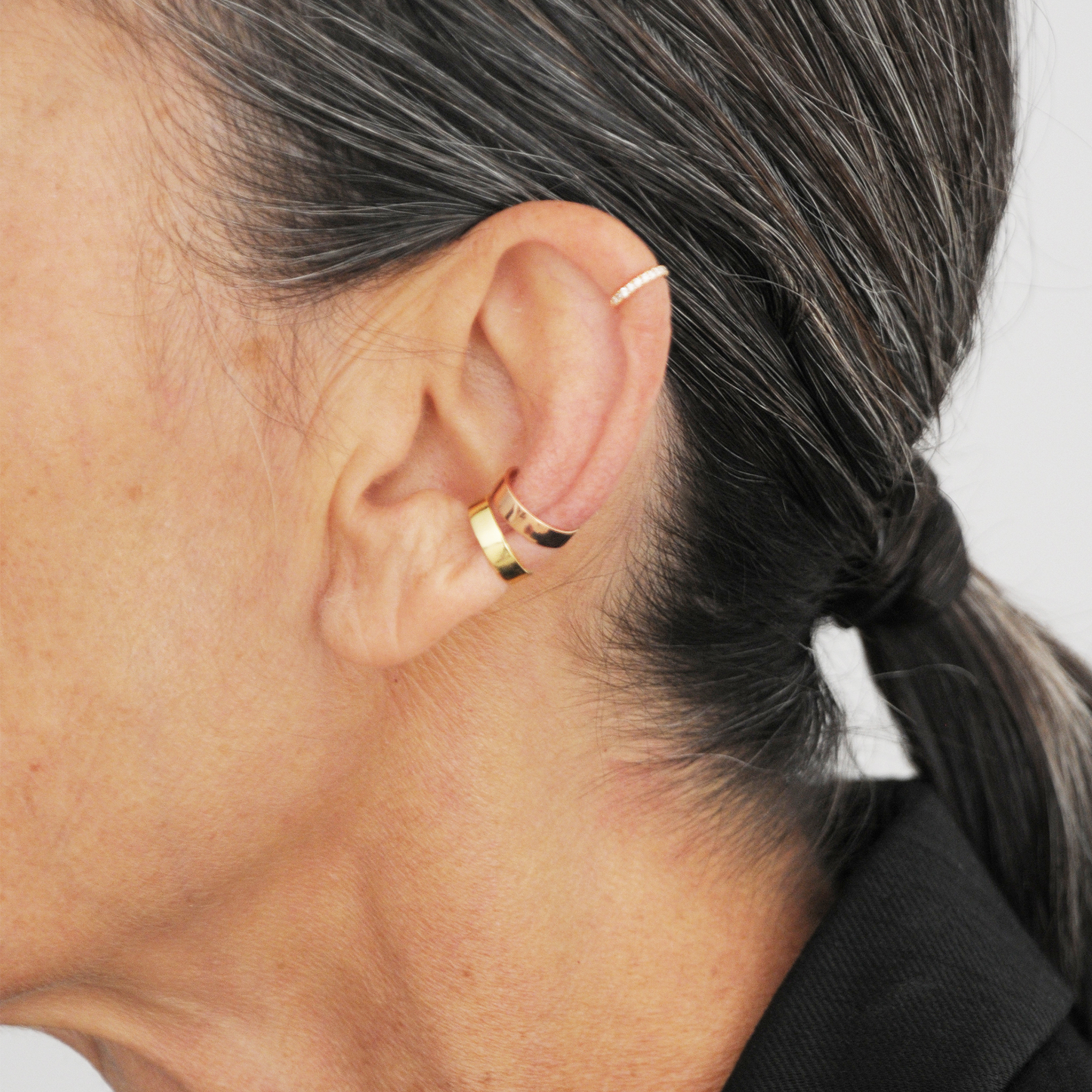Luminous N.4 Gold Ear Cuff