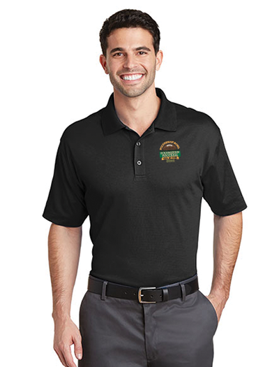 Polynesian Bowl - Men's Parma Polo in Black