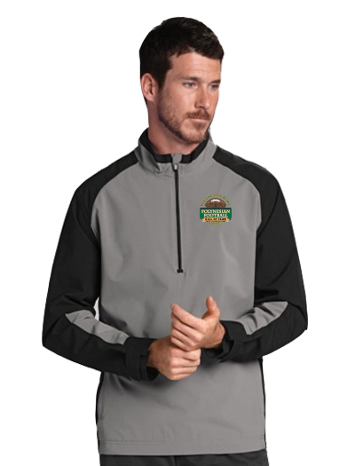 Polynesian Bowl - Men's Summit Half Zip in Gravel