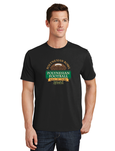 Polynesian Bowl - Fan Favorite Logo Tee in Black