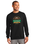 Polynesian Bowl - Logo Crewneck in Black