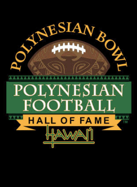Polynesian Bowl - Ladies Logo Tee in Black