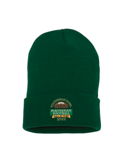 "Polynesian Bowl - Yupoong 12"" Cuffed Beanie (Available in Multi Colors)"