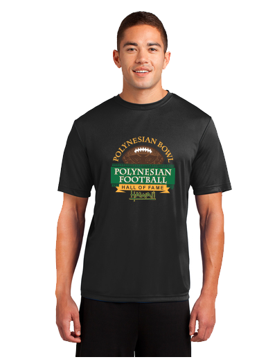 Polynesian Bowl - Dri Fit Tee in Black