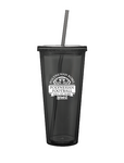 Polynesian Bowl - Souvenir Cup with Straw