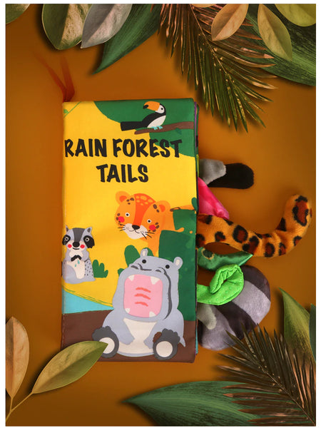 black-rain-forest-tails-cloth-book