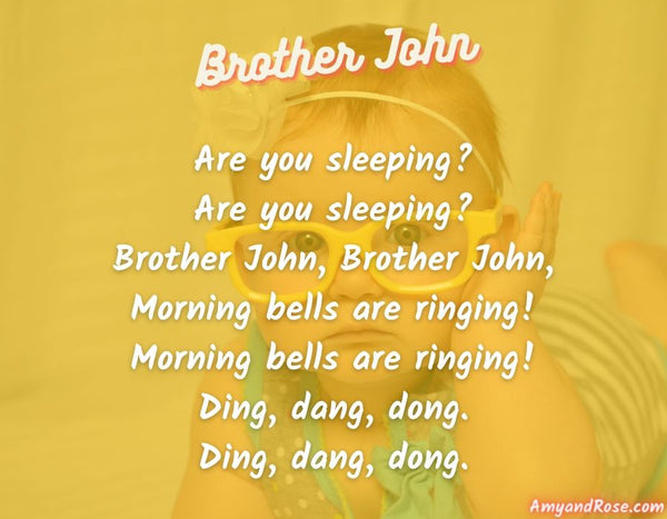Brother John Lullaby Lyrics