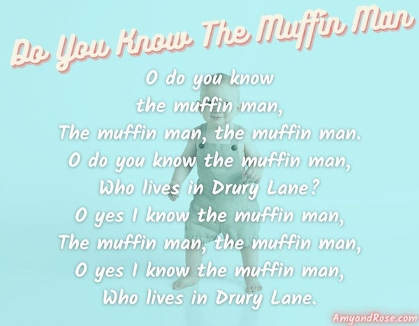 Do You Know the Muffin Man Lullaby Lyrics