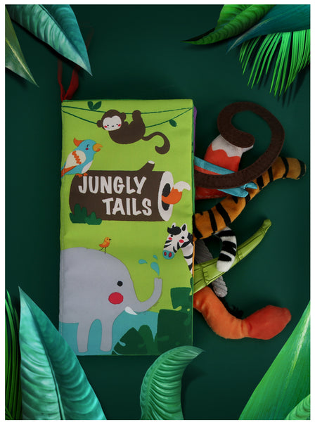 green-jungly-tails-soft-book-for-baby