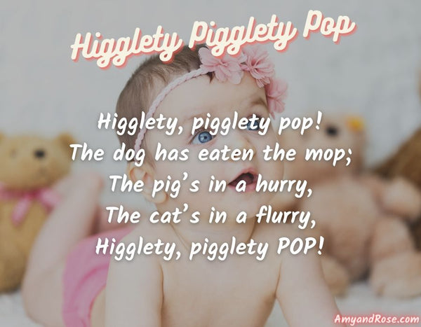 Higglety Pigglety Pop Lullaby Lyrics