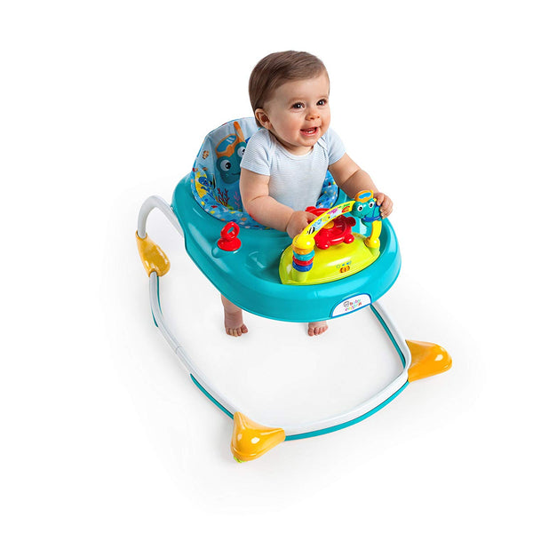 Kid on Baby Einstein sea walker
