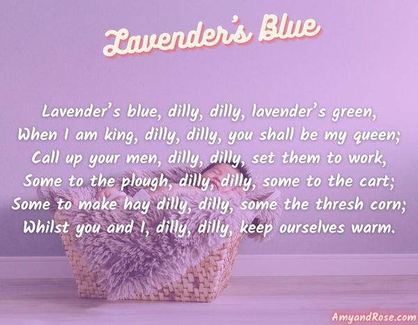 Lavender's Blue Lullaby Lyrics