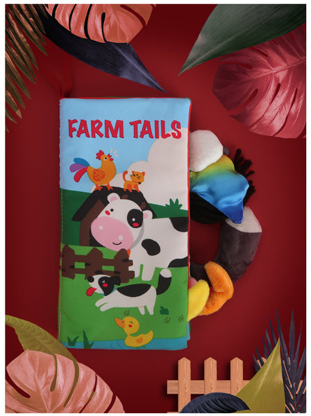red-farm-tails-cloth-book