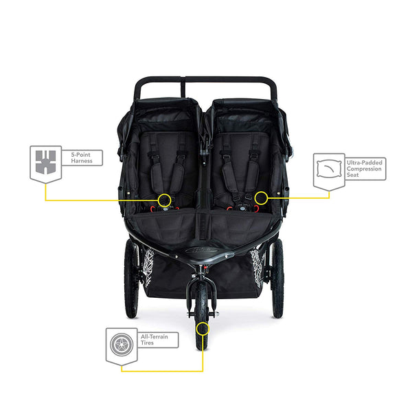 BOB Revolution Flex 3.0 Duallie Jogging Stroller Safety Features