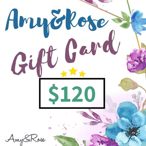 Gift Cards - Best Value Vouchers-AmyandRose-$120-AmyandRose