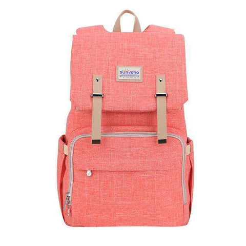 2018 Fashion Diaper Backpack-backpack-Amy&Rose-Pink-Amy&Rose