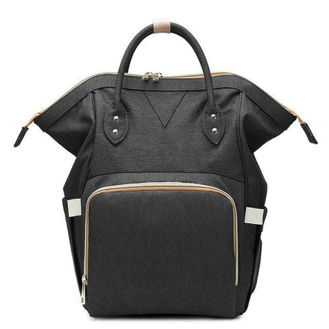 Ava Designer Nursing Bag by Amy&Rose-backpack-Amy&Rose-Black-Amy&Rose
