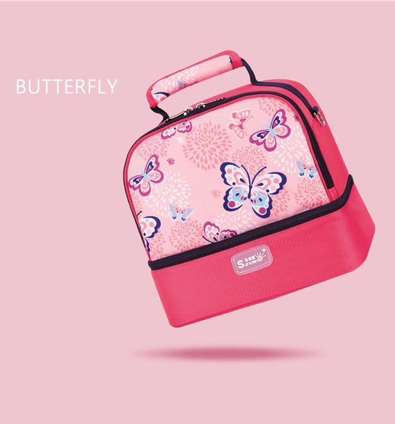 Butteryfly pink baby bag
