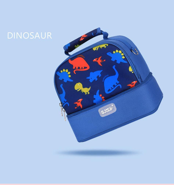 Dinosaur Blue Baby Bag