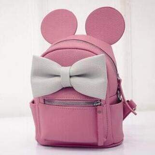 Big Ear Mini Backpack-backpack-Amy&Rose-purple red-Amy&Rose