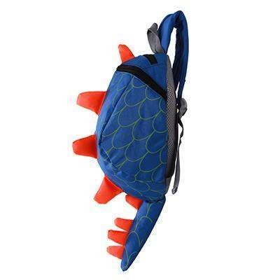 Dinosaur Anti lost backpack for kids-backpack-Amy&Rose-Blue A-Amy&Rose