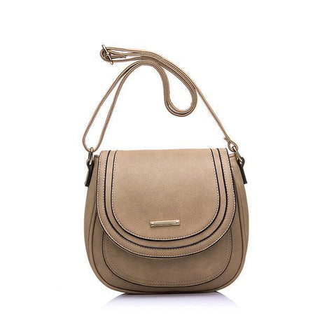 Emily Messenger Bag-messenger bag-AmyandRose-Black-Amy&Rose