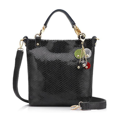 Evelyn Handbag-handbag-AmyandRose-Dark Grey-Amy&Rose
