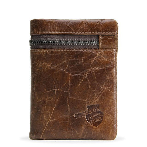 Jacob Rugged Style Wallet-wallet-Amy&Rose-Amy&Rose