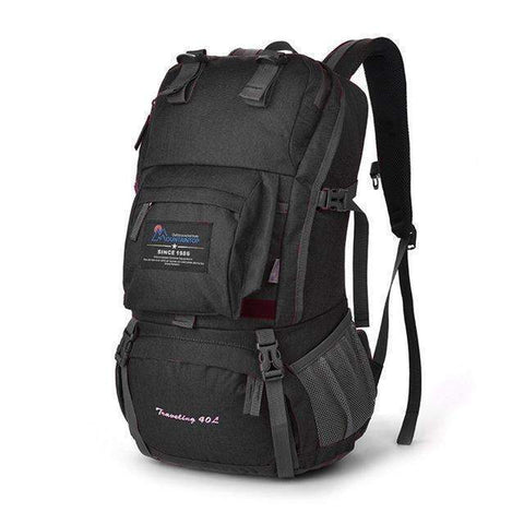 Kevin™ 40L Internal Frame Waterproof Bag-backpack-Amy&Rose-Gray-Amy&Rose