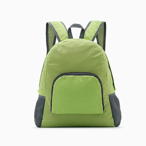Lauren Waterproof Backpack-backpack-Amy&Rose-Green-15 Inches-Amy&Rose