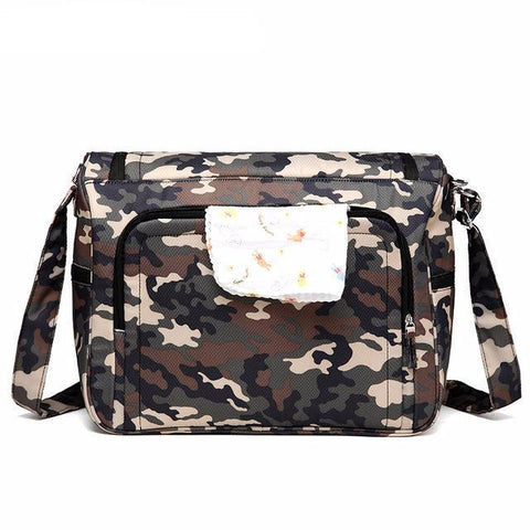 Messenger Diaper Bag Organizer-Amy&Rose-Camouflage-Amy&Rose