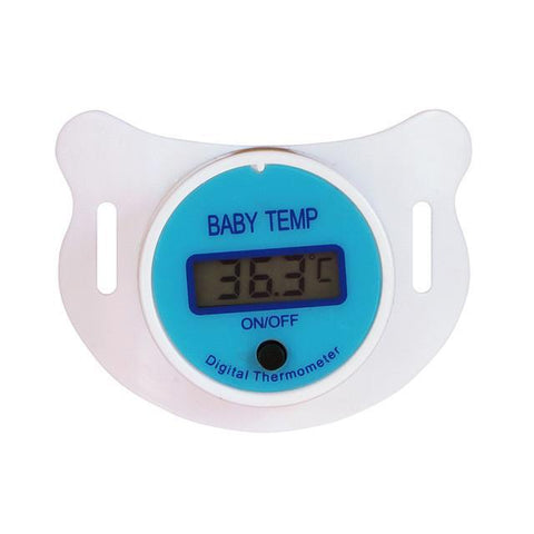 Nipple Thermometer and Pacifier-baby-Amy&Rose-Blue-Amy&Rose