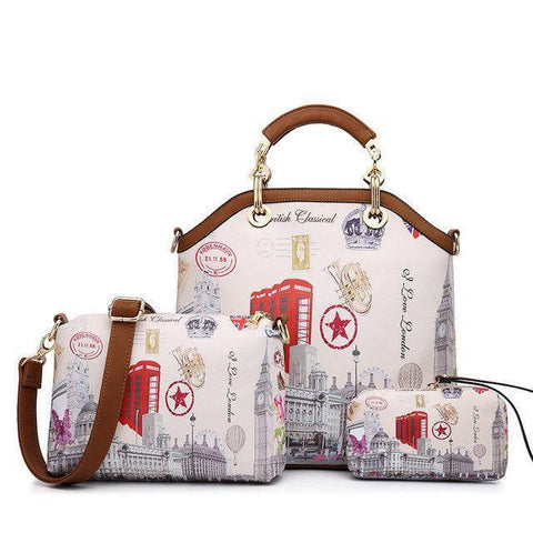 Paris handbag-handbag-AmyandRose-Red Star-Amy&Rose