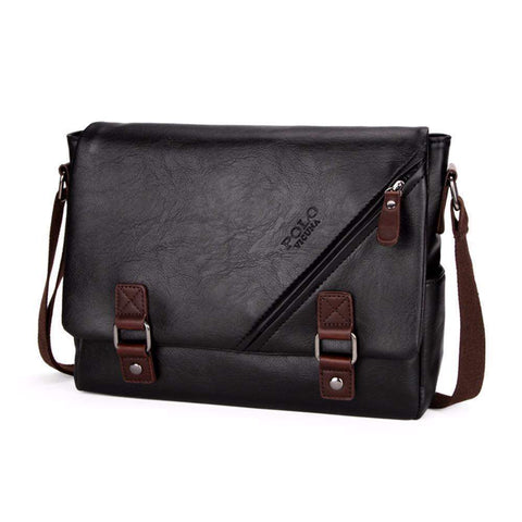 POLO Large Messenger Bag-messenger bag-Amy&Rose-Amy&Rose
