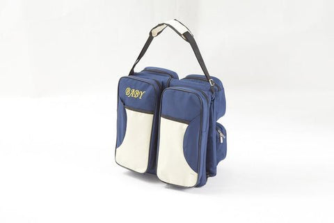 Portable Large capacity Diaper Bag-baby-Amy&Rose-Deep blue-Amy&Rose