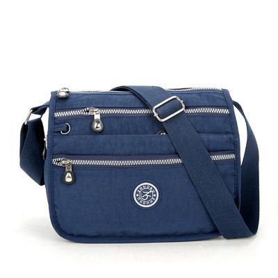 Lita Multi Compartment Handbag Purse-AmyandRose-Dark blue-AmyandRose