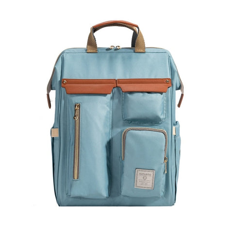 Blue Diaper Backpack
