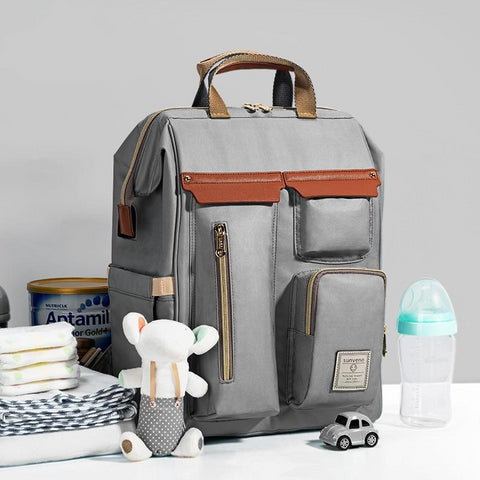 Front view of Sunveno Diaper Bag