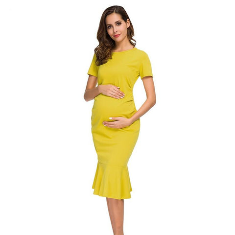 Bodycon Maternity Dresses-maternity-AmyandRose-AmyandRose