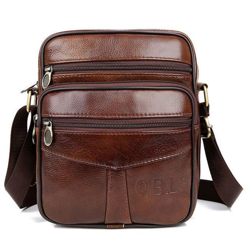 Roger Messenger Bag-messenger bag-Amy&Rose-Brown-Amy&Rose