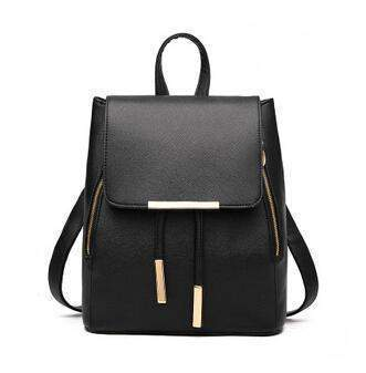 Tracy Backpack-backpack-Amy&Rose-Black-Amy&Rose