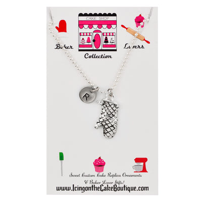 Monogram Oven Mitt LOVERS NECKLACES