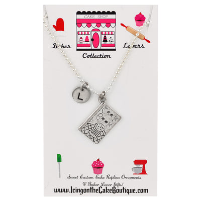 Monogram Cookbook BAKER LOVERS NECKLACES