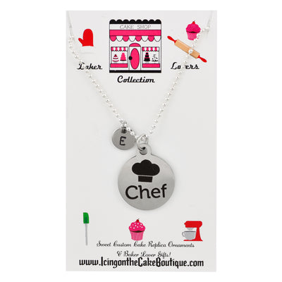 Monogram Chef BAKER LOVERS NECKLACES