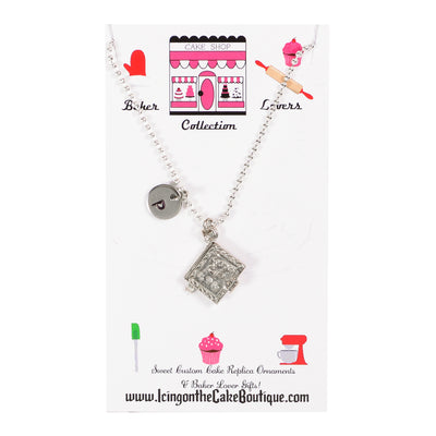 Monogram Recipe Book BAKER LOVERS NECKLACES