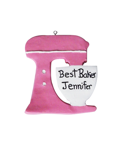 Personalized Quote Baker Lover Mixer Custom Ornament/Magnet